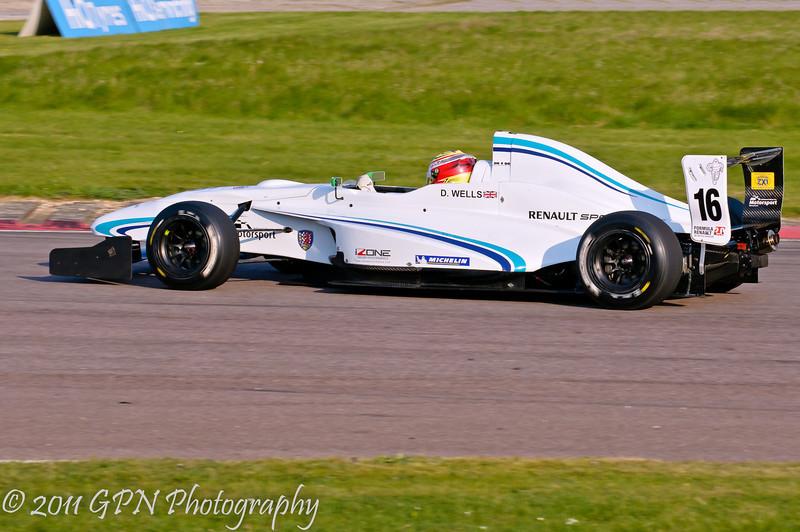 Dan Wells - Formula Renault 2.0 UK Championship