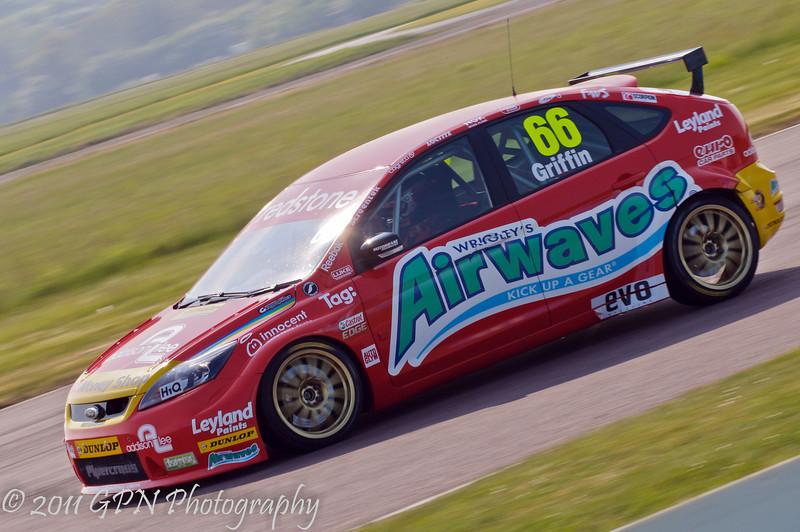 Liam Griffin (Ford Focus) - MSA British Touring Car Championship