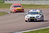 Tom Chilton (Ford Focus) leads Mat Jackson (Ford Focus) - MSA British Touring Car Championship