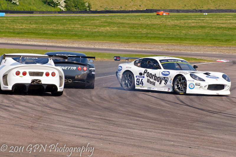 Jake Hill (Ginetta G50) spins - Ginetta GT Supercup
