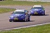 Paul O'Neill (Chevrolet Cruze) leads John George (Chevrolet Cruze) - MSA British Touring Car Championship