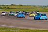 James Dixon runs wide - Renault Clio Cup UK