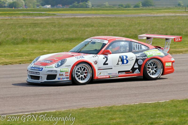 Michael Caine - Porsche Carrera Cup
