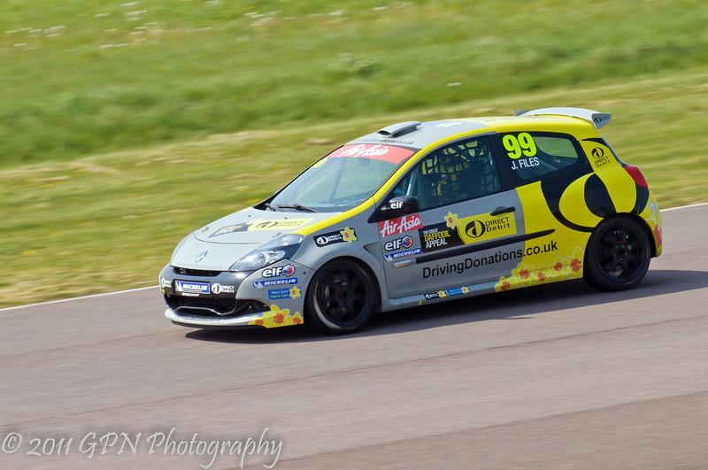 Josh Files - Renault Clio Cup UK