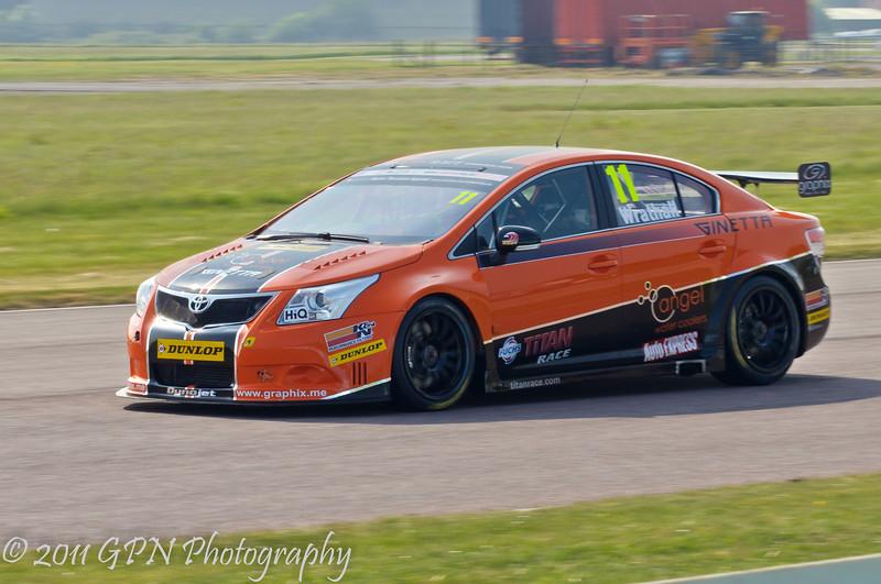 Frank Wrathall (Toyota Avensis) - MSA British Touring Car Championship