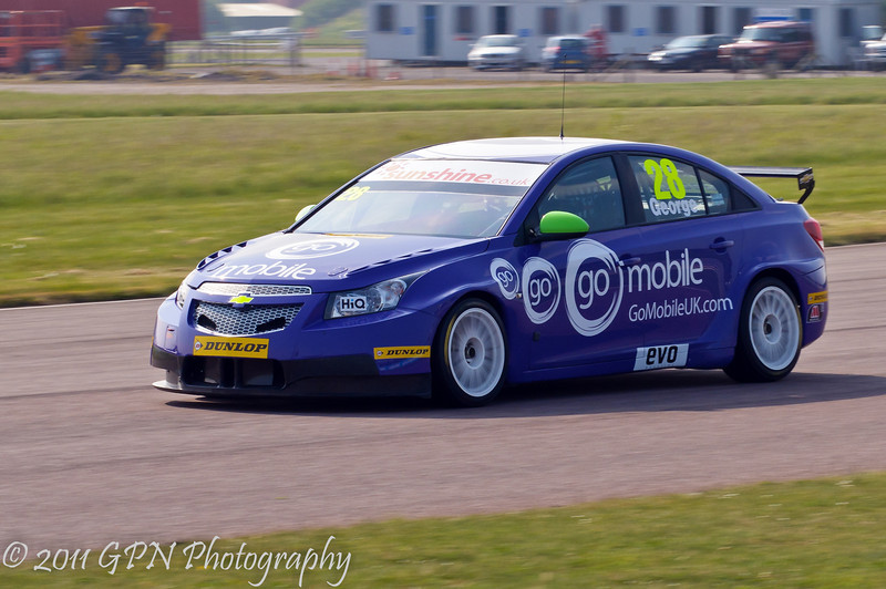 John George (Chevrolet Cruze) - MSA British Touring Car Championship