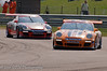 Keith Webster leads Andrew Shelley - Porsche Carrera Cup
