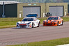 Carl Breeze (Ginetta G55) leads Adam Morgan (Ginetta G55) - Ginetta GT Supercup