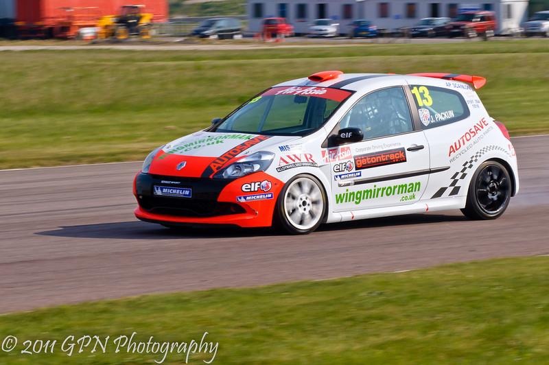 Jake Packun - Renault Clio Cup UK