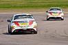 Gordon Shedden chases his team mate Matt Neal (Honda Civic) - MSA British Touring Car Championship