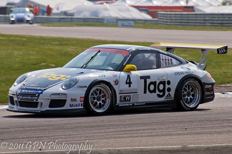 Steve Parish - Porsche Carrera Cup
