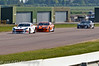 Carl Breeze leads Adam Morgan & Nathan Freke (Ginetta G55) - Ginetta GT Supercup