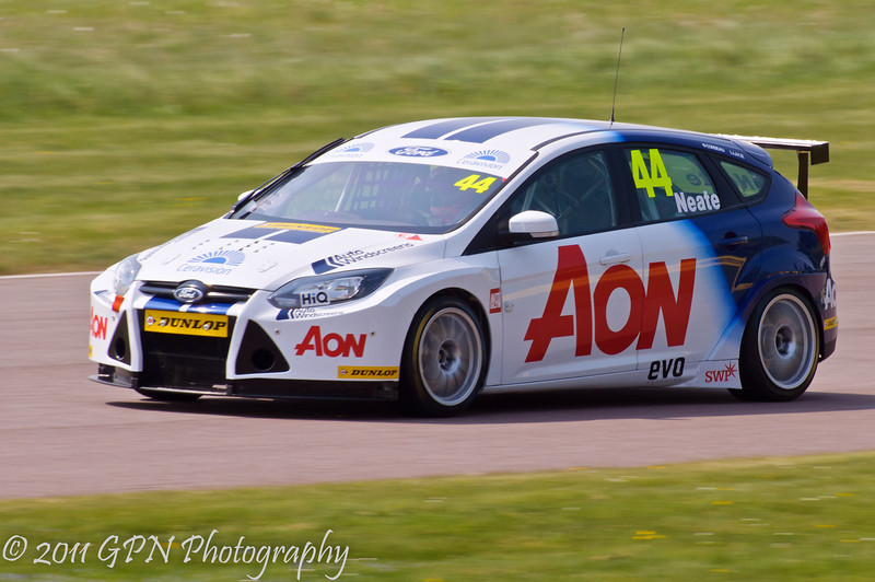 Andy Neate (Ford Focus) - MSA British Touring Car Championship