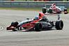 Jordan King leads Alice Powell - Formula Renault 2.0 UK Championship