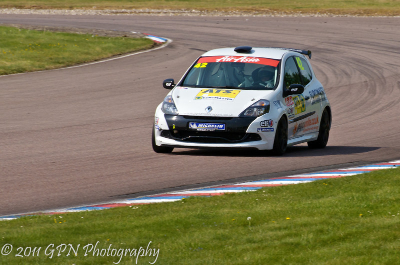 Craig Currie - Renault Clio Cup UK
