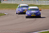 Paul O'Neill leads his teammate John George (Chevrolet Cruze) - MSA British Touring Car Championship