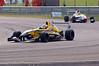 Eftihios Ellinas leads Mitchell Gilbert - Formula Renault 2.0 UK Championship