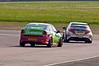 Tony Gilham (Vauxhall Vectra) chases Matt Neal (Honda Civic) - MSA British Touring Car Championship