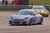 Stephen Jelley lifts a wheel - Porsche Carrera Cup