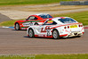 Seb Morris leads George Gamble - Ginetta Junior Championship