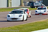 The Safety Car leads the field round after an accident - Ginetta Junior Championship