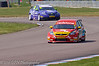 Mat Jackson (Ford Focus) leads John George (Chevrolet Cruze) - MSA British Touring Car Championship