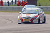 Matt Neal (Honda Civic) leads Jason Plato (Chevrolet Cruze) - MSA British Touring Car Championship