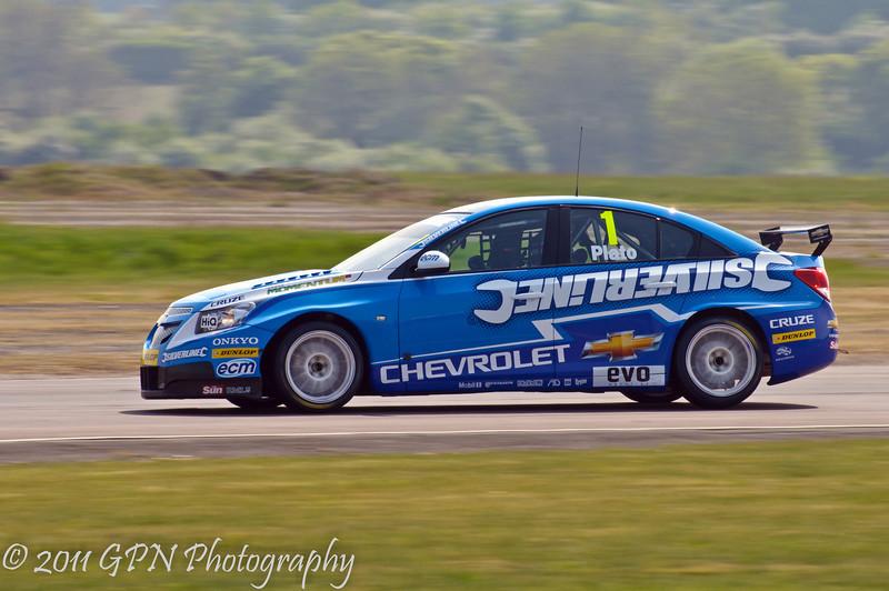 Jason Plato (Chevrolet Cruze) - MSA British Touring Car Championship