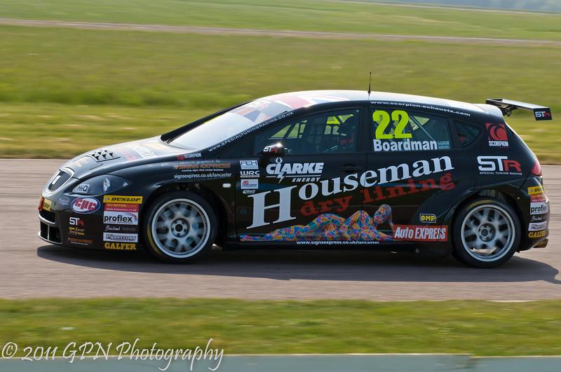 Tom Boardman (Seat Leon) - MSA British Touring Car Championship