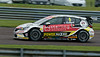 Rob Collard driving the Sterling Insurance with Power Maxed Racing team's Vauxhall Astra in the Kwik Fit British Touring Car Championship at Thruxton Circuit.