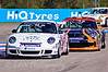 Tommy Dreelan leads Paul Mace & Derek Pierce (Porsche Carrera Cup)