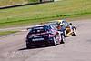 Paul O'Neill (Honda Integra) leads Dave Pinkney (Honda Civic)