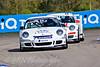Tommy Dreelan leads Ben McLoughlin (Porsche Carrera Cup)