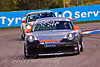 Tom Bradshaw leads Glynn Geddie (Porsche Carrera Cup)