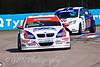 Rob Collard (BMW 320si) leads Alan Morrison (Ford Focus ST)