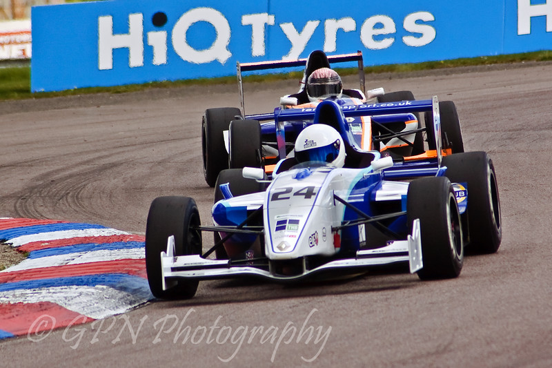 Sasha Radola leads Isa Yousef (Formula Renault)