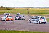 Patrick Collins getting it all wrong at the complex (Renault Clio Cup)
