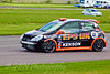 Robert Gaffney (Renault Clio Cup) after a first lap collision