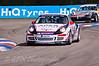 Glynn Geddie leads Tom Bradshaw (Porsche Carrera Cup)