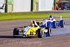 Tom Armour leads Alice Powell (Formula Renault)