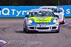 Tim Bridgeman leads James Sutton (Porsche Carrera Cup)