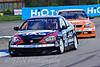 John George (Honda Integra) leads Colin Turkington (BMW 320si)