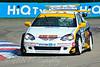 Paul O'Neill leads his teammate Martyn Bell (Honda Integra)