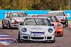 Tommy Dreelan leads Matt Kelly, Glynn Geddie & Tom Bradshaw (Porsche Carrera Cup)