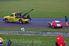 Recovering the crashed cars, James Jefferson (Ginetta G20 Junior GT4)