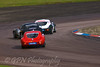 Robert Gaffney gets it a bit wrong on entry to the complex (Ginetta G20 Coupe)