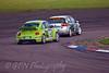 Tony Gilham (VW Beetle) chasing Steve Wood (VW Golf)