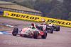 Dean Smith chased by Jordan Oakes & Richard Singleton (Formula Renault)