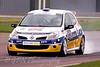 Jonathon Sheperd locks his brakes (Renault Clio)