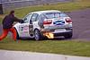 Kristian Waite flaming out (Seat Leon Cupra)
